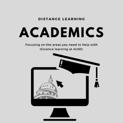 academics for distance learning at AUSD