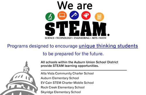 We are steam graphic
